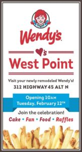 Wendy's Ribbon Cutting @ Wendy's